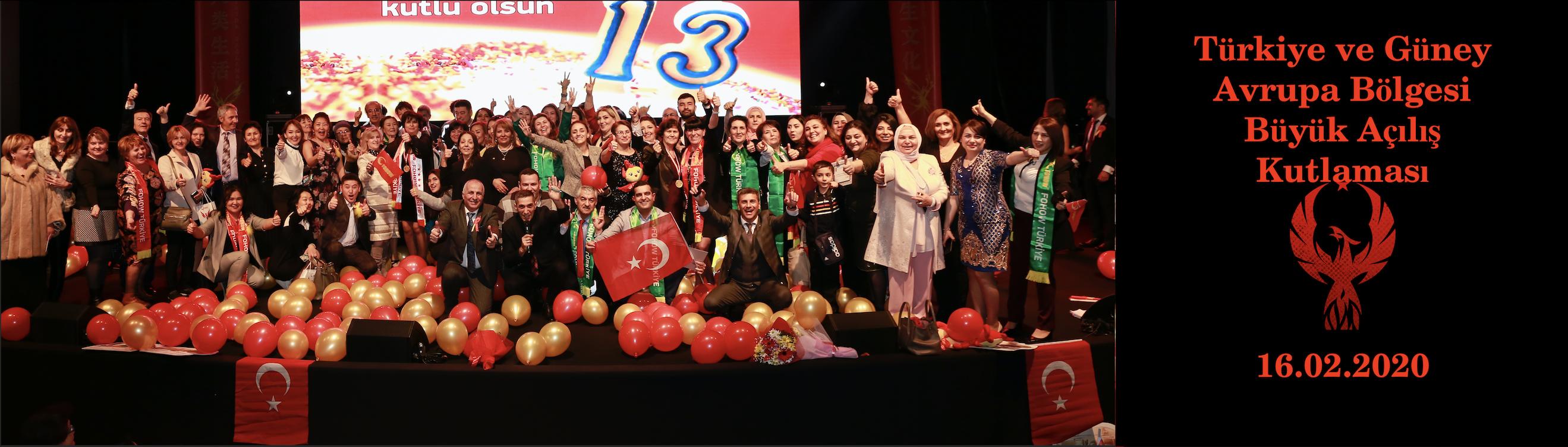 13.Yıl Kutlaması Ve Güney Avrupa Açılışı